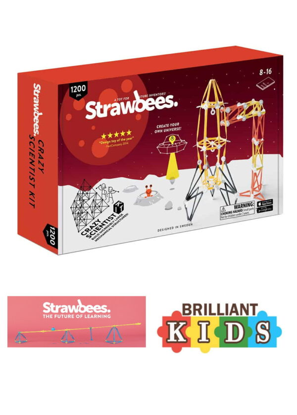 Creative Voucher Kids Science Kit By Strawbees