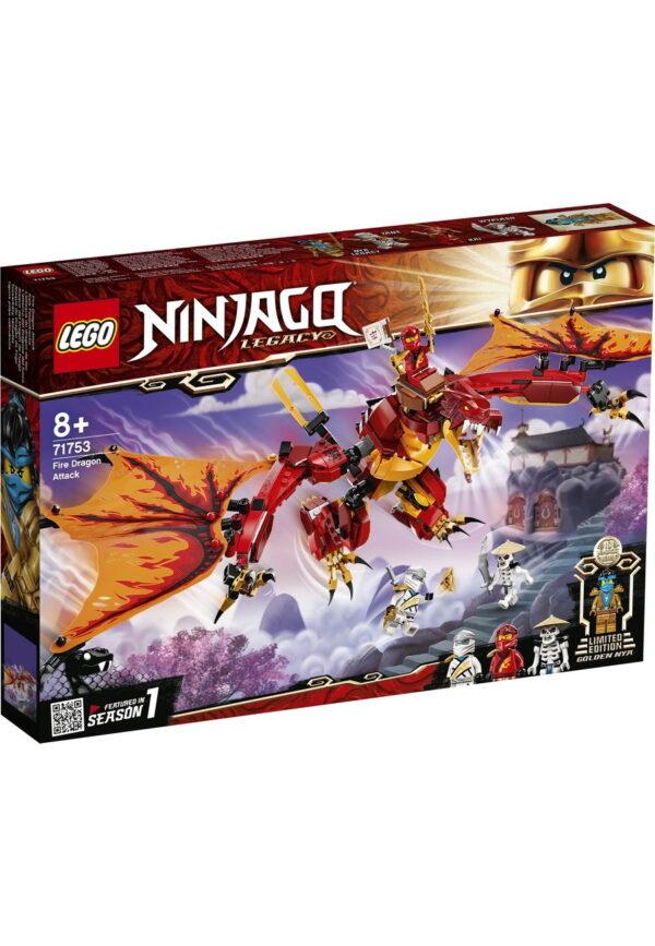 creative kids voucher lego pack: Ninjago Fire Dragon