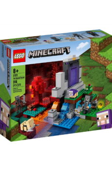 creative kids voucher lego pack. minecraft the ruined portl